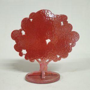 Albero Rosso Ceramica Arte Gino Marotta