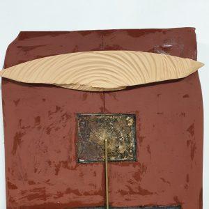 Minotauro Lastra da Parete Ceramica Mario Boldrini