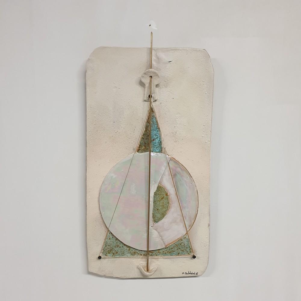 Iride Lastra da Parete Arte Ceramica Mario Boldrini
