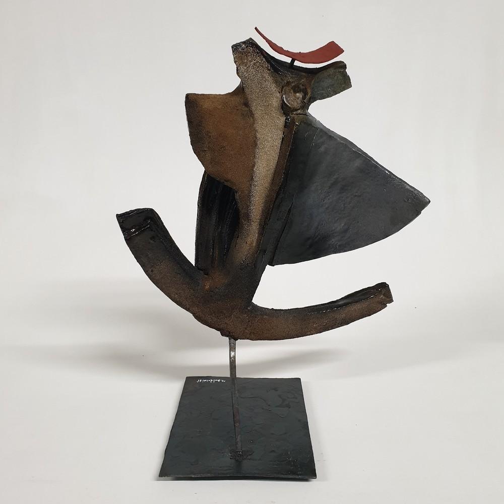 Apollo Scultura Arte Ceramica Mario Boldrini