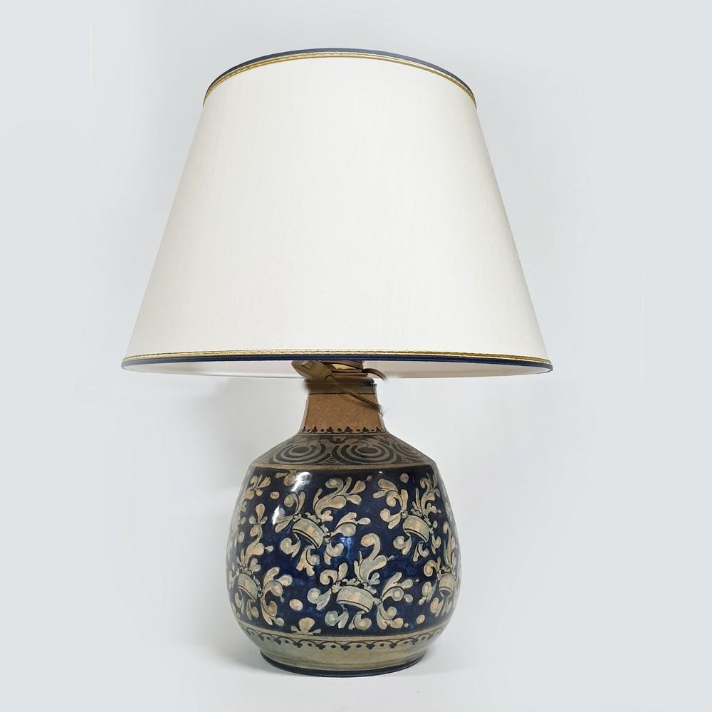 Lampada da Comò Arte Ceramica Mastro Giorgio