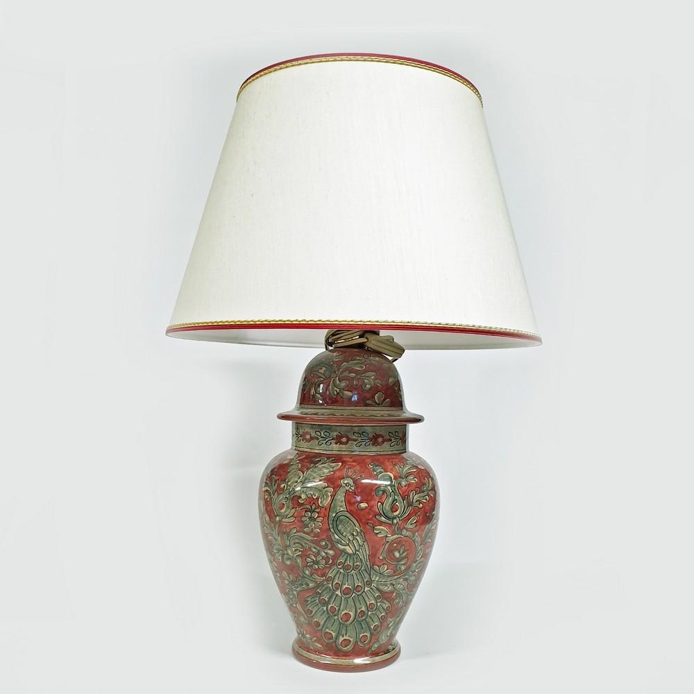 Lampada a Stele Cesti Arte Ceramica Mastro Giorgio