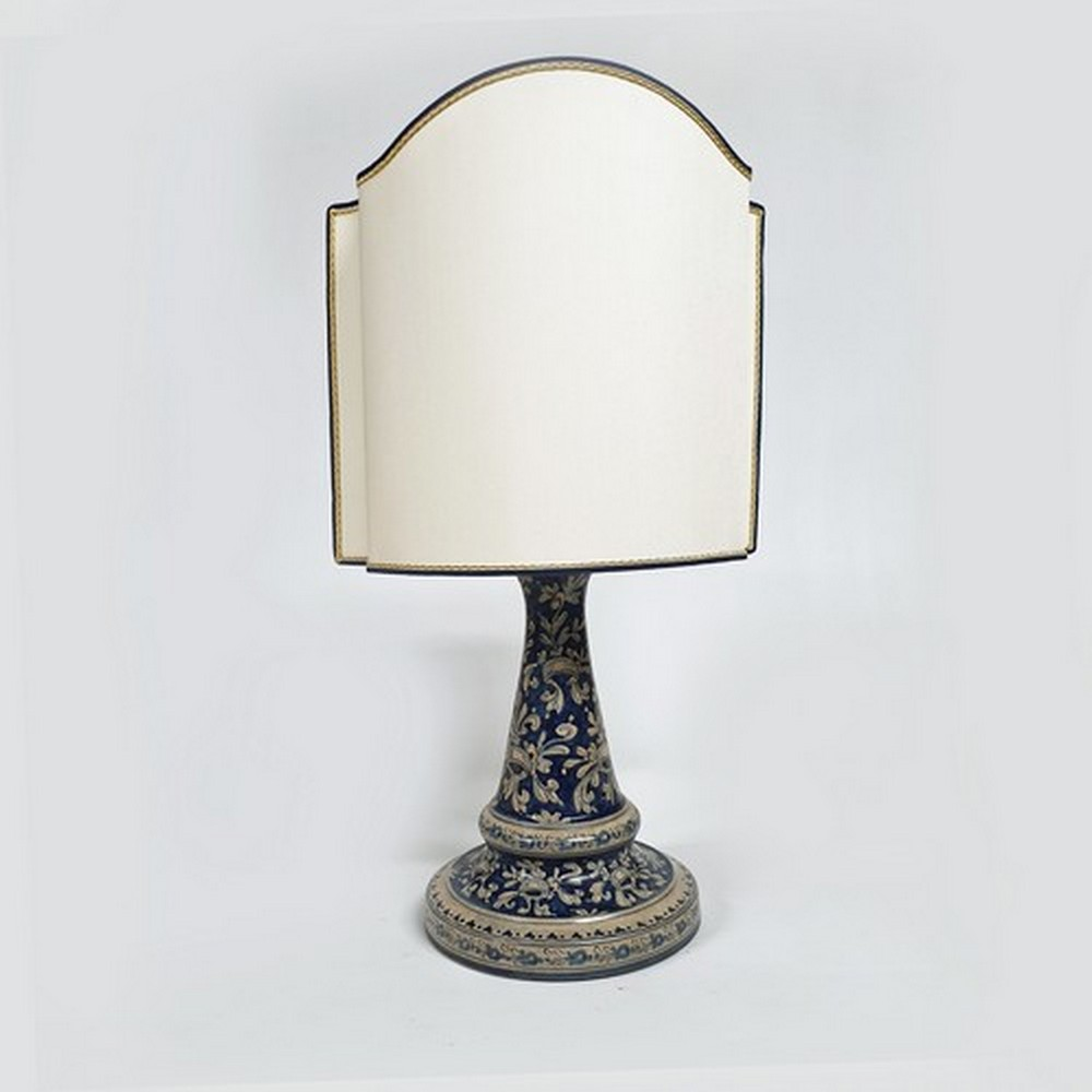 Lampada a Stele Arte Ceramica Mastro Giorgio