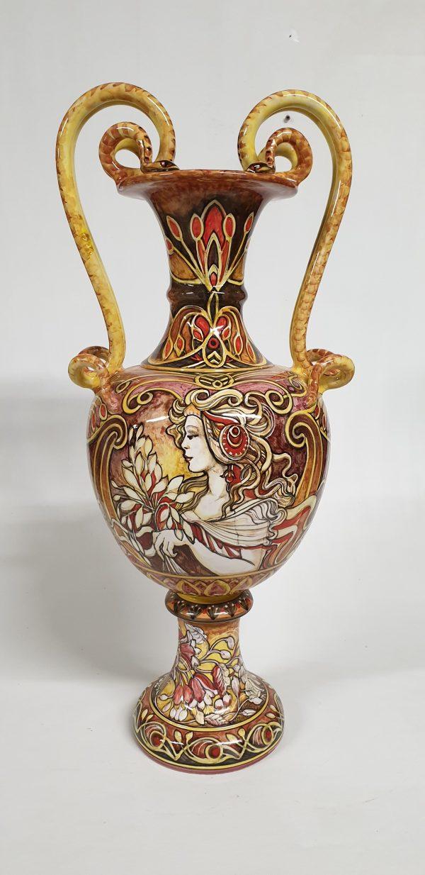 Anfora Liberty Arte Ceramica Mastro Giorgio