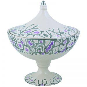 Centro Tavola Ceramica Antica Deruta