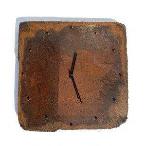Orologio da Parete Lastra Bruciata Officina Peppoloni