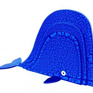 Balena Blu Scultura Ferro Officina Peppoloni